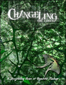 Changeling: The Lost core book cover