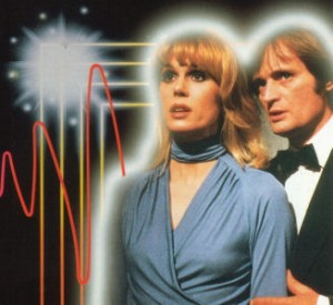 Promo shot from Sapphire and Steel, created by Peter J. Hammond