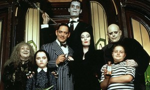 From The Addams Family (1991, dir. Barry Sonnenfeld)