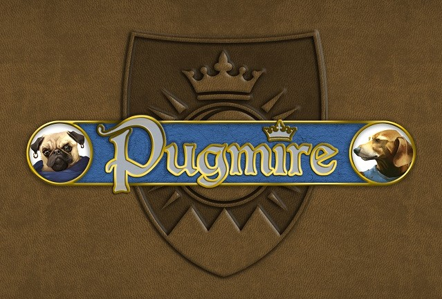 Pugmire Dog Face logo
