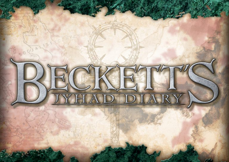Beckett Logo on Background