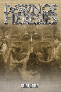 Dawn of Heresies, Mummy novel cover illustration by Aaron Acevedo